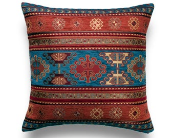 Turkish Kilim Pillow Embroidered Pillow 12x36 Tribal Pillow Lumbar Pillow Ethnic Pillow A1545 Pillow Cover Throw Pillow Sofa Pillow