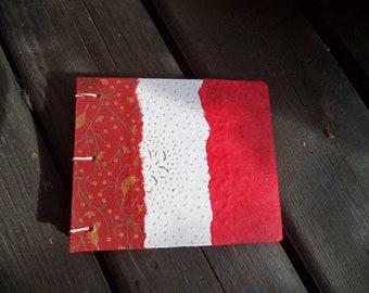 Coptic binding - unique leather journal