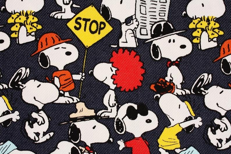 New Peanuts Snoopy /& Woodstock Long Wallet Full Zip White Brown Black from Japan