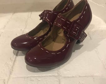 Cherry Red Pinup Heels