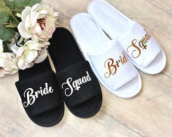 *SALE* Team Bride Spa Slippers *LAST FEW*