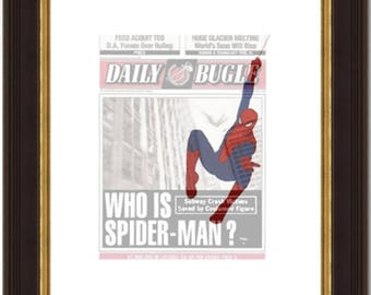 Spiderman-Daily Bugle-Minimalist-Digital Download