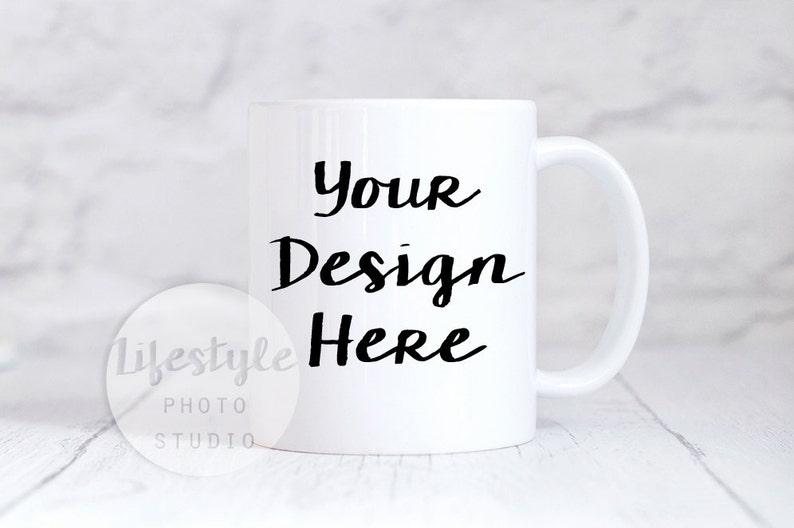 Mug Mockup / Styled Stock Mug Photograph / Blank Mug image 0