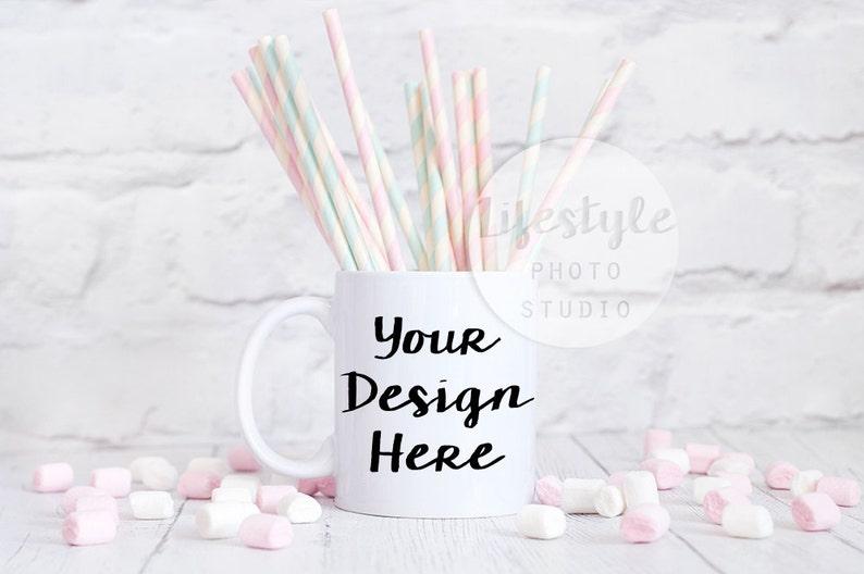 Stock Photograph / Mug Mock Up Photo / Blank Mug Background / image 0