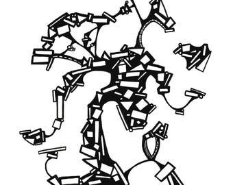 "Jazz Dance Print 8.5"" x 11"""