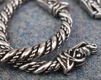 Large Viking Norse Wolf Bracelet ABLET006