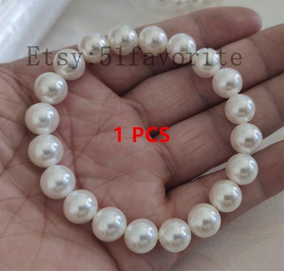 "Huge 12-14mm Multi-Color baroque fresh water pearl bracelet 8/"" magnet clasp"