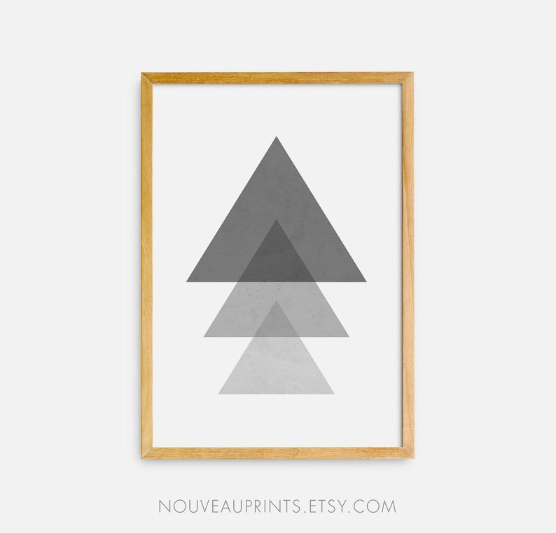 It is an image of Printable Triangle pertaining to simple