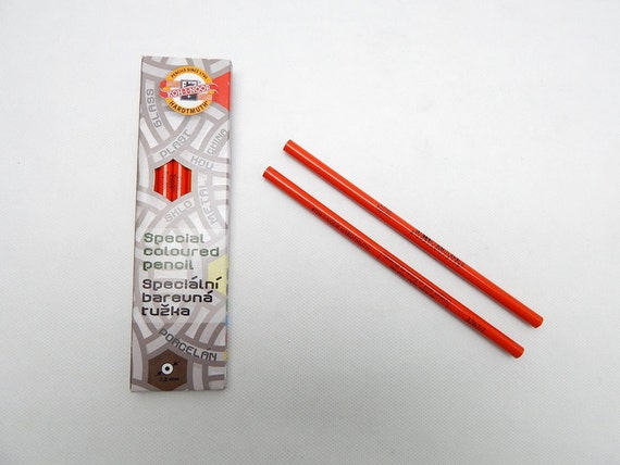 KOH-I-NOOR China Marker Chinagraph Pencil For Marking Glass Metal Plastic
