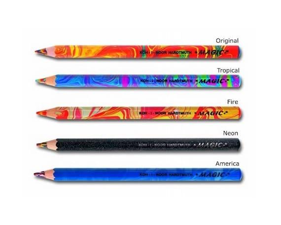 KOH-I-NOOR 3408 Set of 24 Magic Multicoloured Jumbo Pencils New