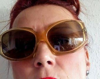 Vintage sunglasses 60/70's made in France boho hippie blogger plastic