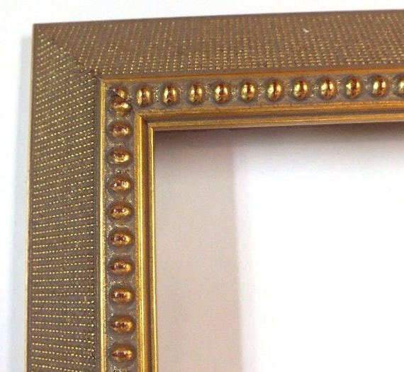 12 X 16 Antique Gold Ornate Picture Frame Wood Very Pretty Loo Etsy