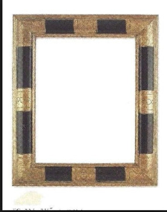 24 X 30 Art Deco Picture Frame Geometric Wide Moulding Etsy
