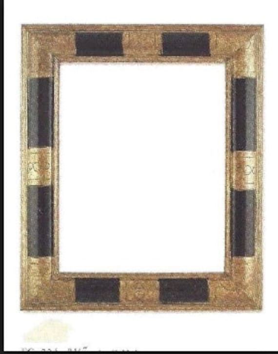 24 X 30 Art Deco Picture Frame Geometric Wide Moulding