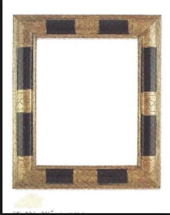 24 X 30 Art Deco Geometric Black Bronze Picture Frame Etsy