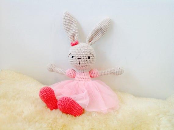 Häkeln Sie Hase-Ballerina häkeln Bunny Ballerina Ballerina | Etsy
