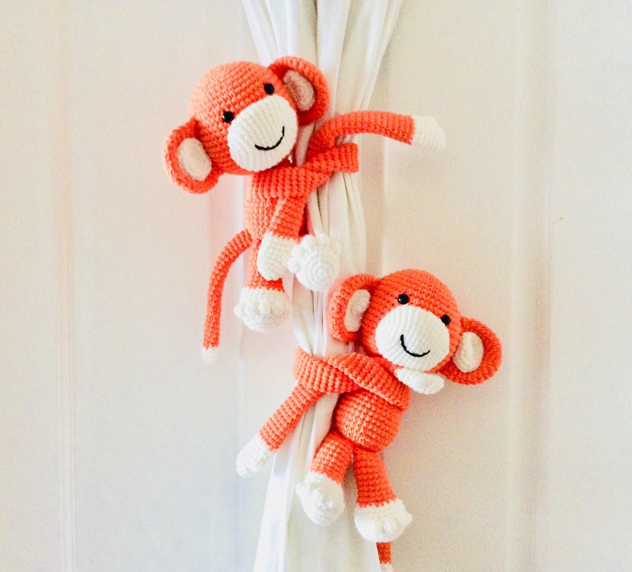 Amigurumi Knitting (Amigurumi) Knitting Toys Curtain Holder 1 ... | 1930x2135
