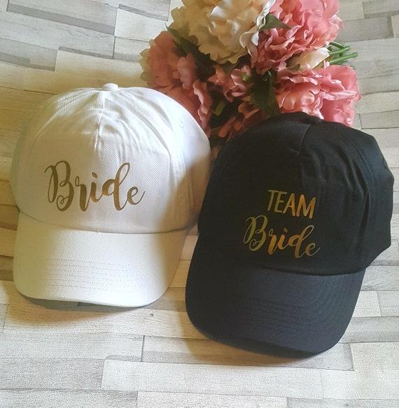 9841df4c272 Team Bride Caps Bride Tribe Baseball Caps Team Bride Hen