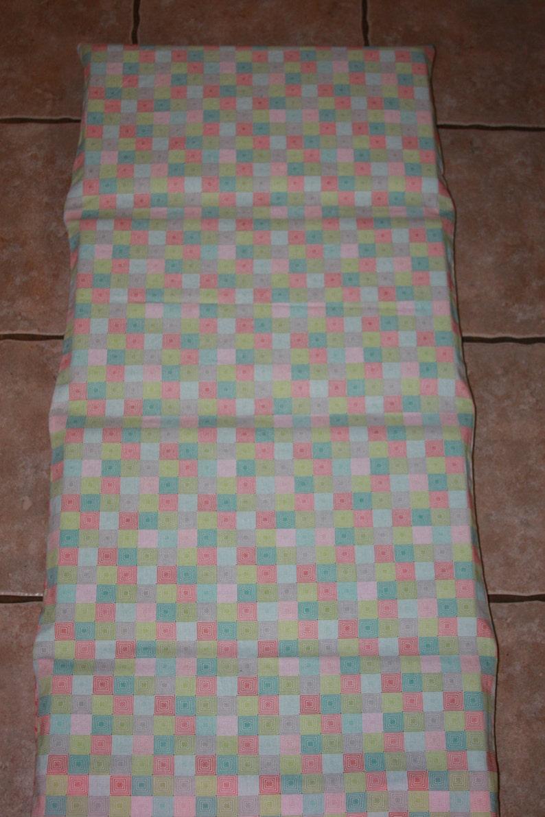 blanket pillow and pillow case Custom monogrammed chevron nap mat cover