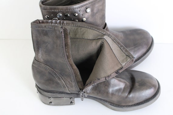 Army cheville combat CATWALK goth bottes bottes grunge 9EUR 40UK bottes underground Noir 7 industriel Western militaireWUS Desert W9YEDH2I