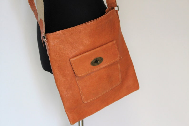 b988fa0e1b Mulberry Brown Leather Messenger Bag Brown Mulberry Bag