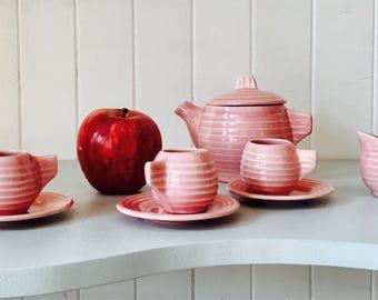 Mini ceramic collectible pink