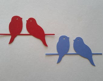 Birds On A Wire Die Cuts