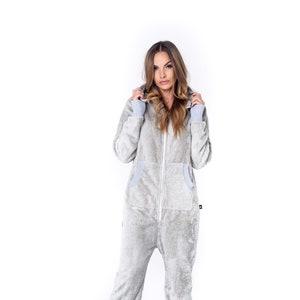 Adult onesie Onesie Pajama Adult Pajama Womens Jumpsuit Plus Size Jumpsuit Womens Onesie Sofa Killer milky white adult unisex onesie