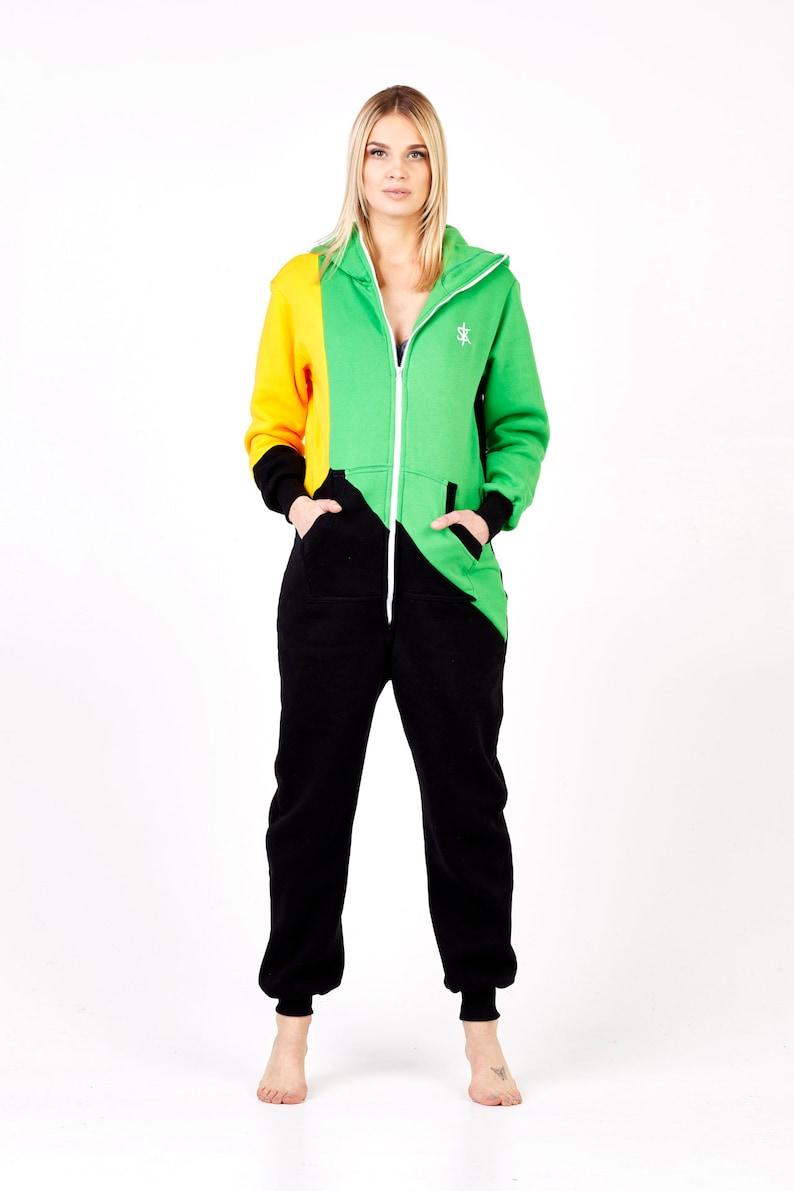 702a3b0d7f92 Adult onesie plus size hooded pyjamas baggy cotton jumpsuit