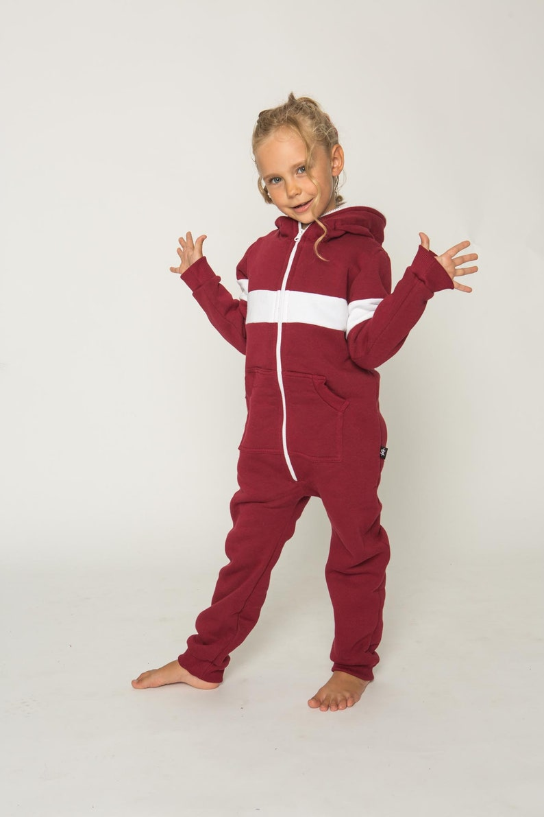354b4fc62c90 SOFA KILLER Burgundy color unisex kids onesie RIGA kids