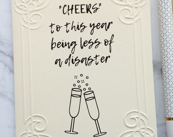 Funny New Years Card Etsy
