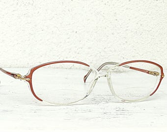 84e756596d82 Stepper eyewear 5212 bifocal reading glasses super light specs oval lenses  flexible titanium temples gold frame made in Germany vintage 90s