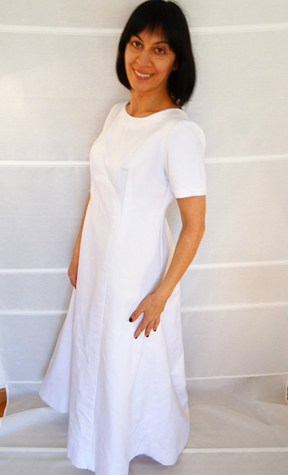 dress Gown Bridal US Size wedding Simple wedding Plus 12 dress Bohemian size Plus maxi 14 1960s dress long gown 1970 Unique Vintage wedding p75Ttnwqdt