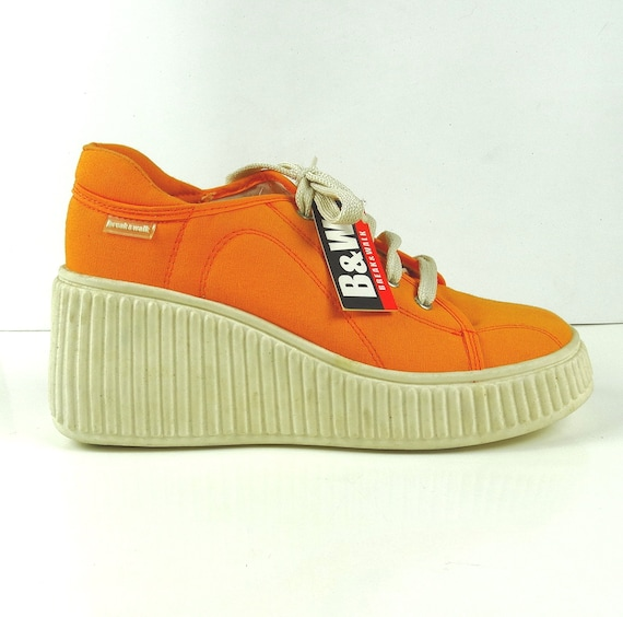 473668cfa81 Platform sneakers 90s platform shoes vintage platform shoes