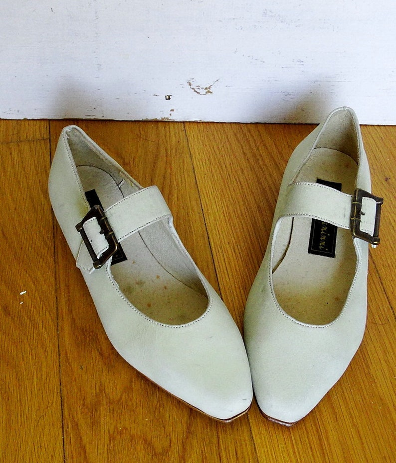 Mary Jane shoes women size 5 ballet flats 1950s Mary Janes