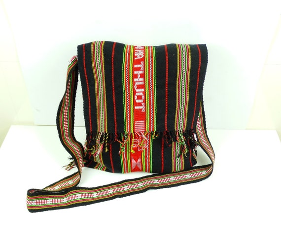Canvas messenger bag women tapestry handbag Canvas