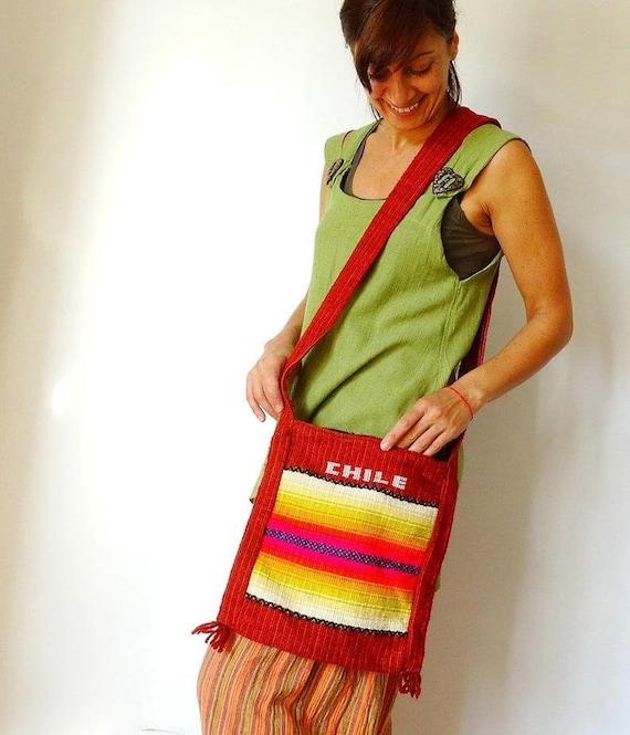 Canvas messenger bag women hobo bag tapestry handb