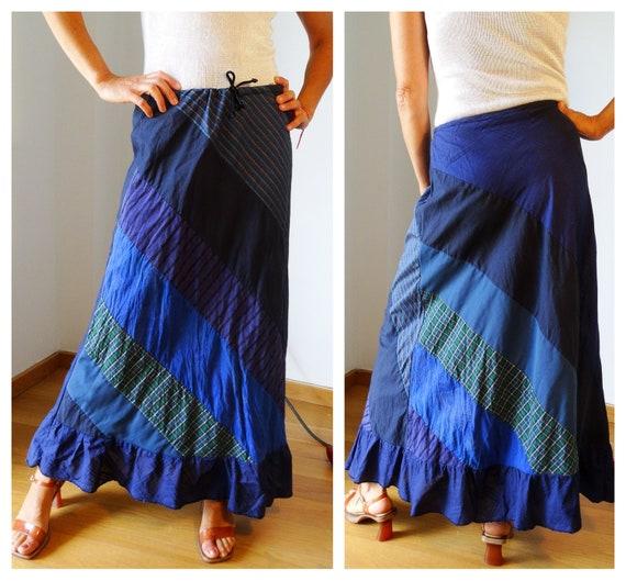 Hippie skirt bohemian maxi skirt hippie clothes pa