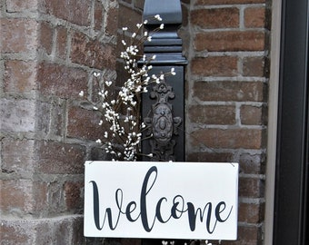 Decorative Porch Post, Decorative Welcome Sign
