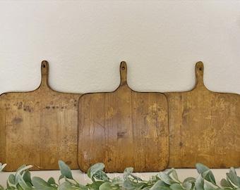 Small European Square Breadboard, Display Board, Charcuterie Board, Repurposed, Reclaimed Wood, Vintage Wood, Cheese Board