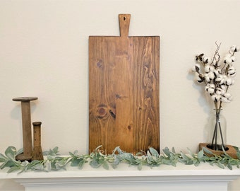 Large European Rectangle Breadboard,ReClaimed, Repurposed Wood, Vintage European Charcuterie Board, Cheese Board, Vineyard