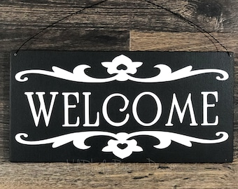 Welcome Sign,Porch Post Sign