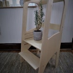 Classic Learning Tour - Montessori Observation Tower - Ladder - Children Cooking Bench