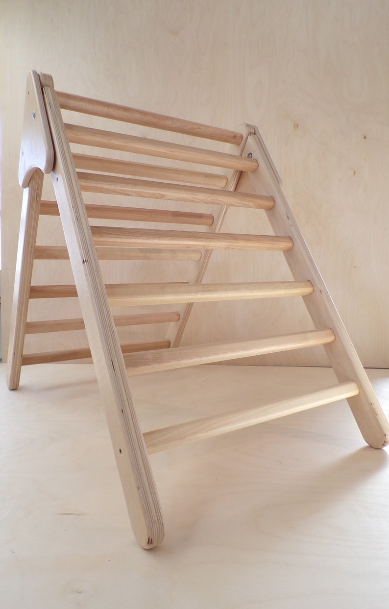 Natural climbing triangle/ Climbing structure /  Made in image 0