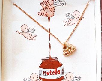 Poop Emoji Necklace, Poop Emoji Jewelry, Poop Necklace, Fun Jewelry, Poop Emoji, 24k Gold Poop, Silver Poop