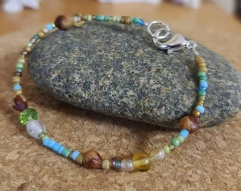 Navajo Spirit Protection Bracelet, Ghost Bead Jewelry,  a protecting amulet keeping people safe from the outside world & illness