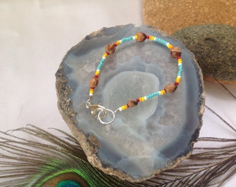 Protects from Evil Spirits Beaded Protection Anklet Bad Dreams Ghost Bead Anklet Night Terrors Sleep Paralysis for children /& adults
