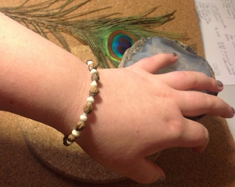 Childrens Bracelets, Ghost Beads for protection