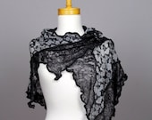 Grey black lace shawl lace shawl wedding scarf shoulder warmer lace bohemian shirts shawl scarf shoulder cover grey flower lace shawl stole