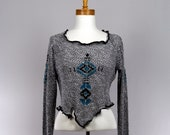 Women's native american pattern sweater long-sleeved sweater